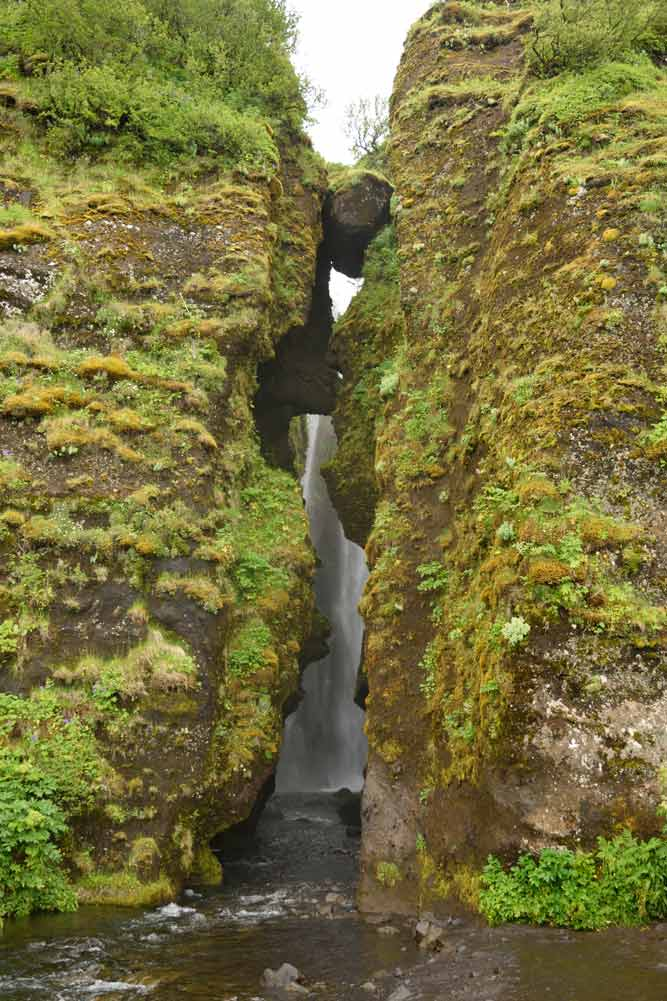 Cascade Gljúfrabúi, Islande