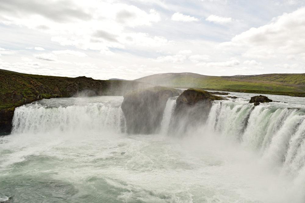 Cascade Goðafoss, Islande