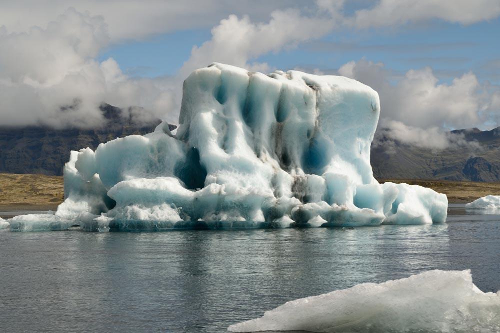 Iceberg Jökulsárlón, Islande