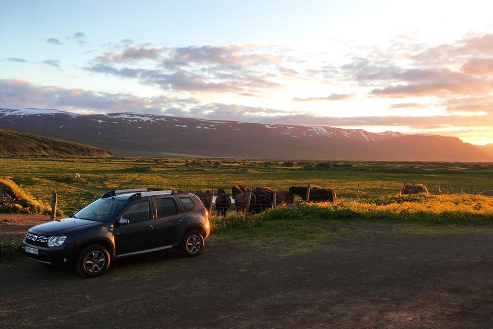 Louer voiture Islande