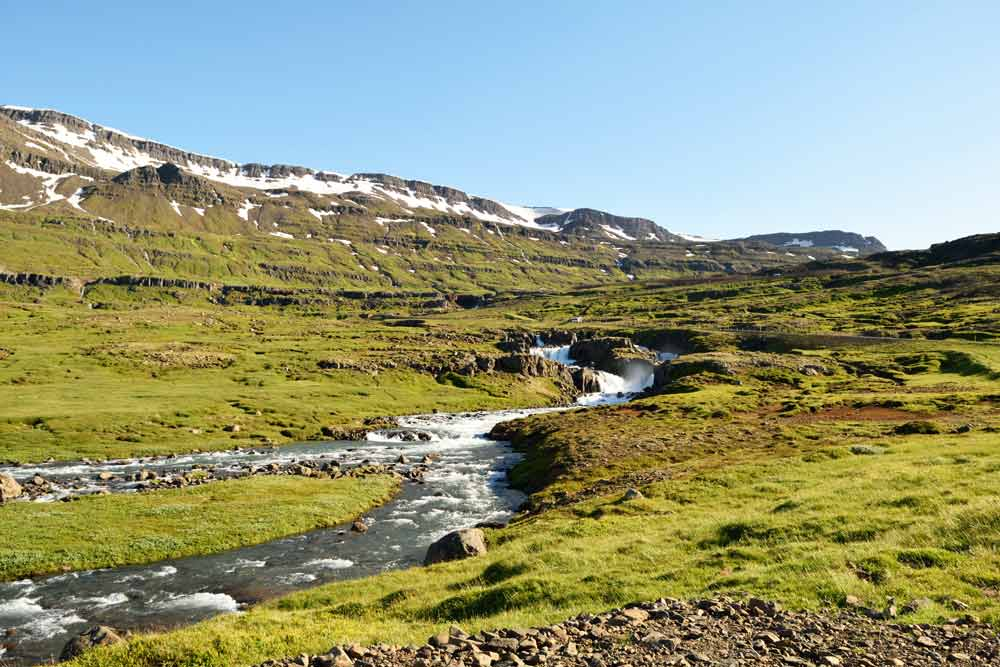 Seydisfjordur, road trip Islande