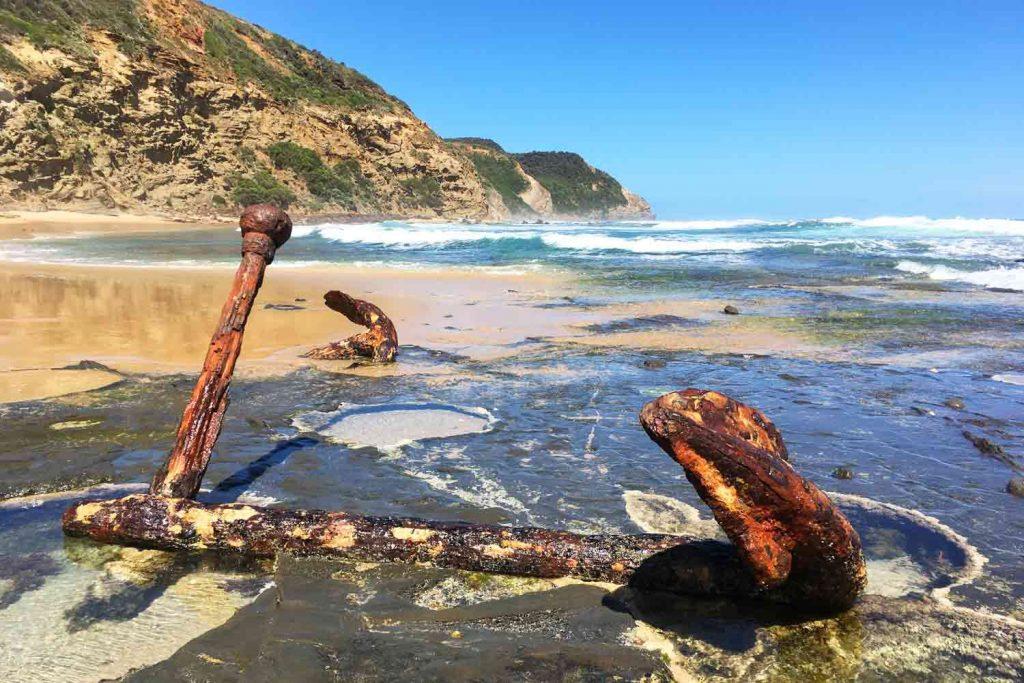 Wreck Beach Australie Great Ocean Road