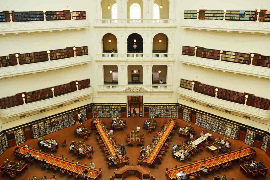 Visiter Melbourne et la bibliothèque