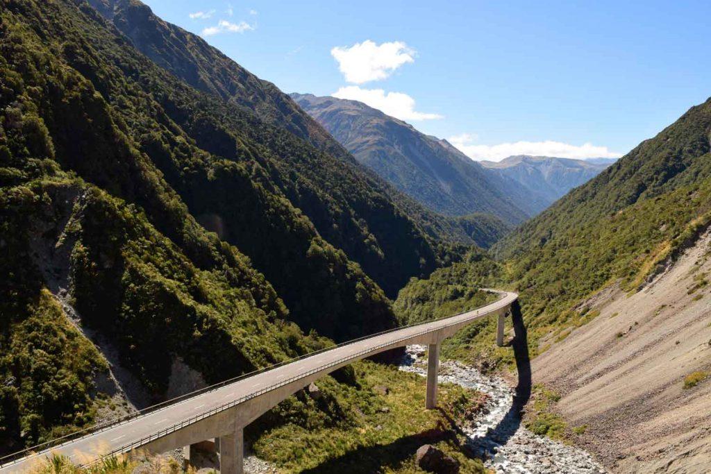 Road trip Nouvelle Zélande Arthur's Pass