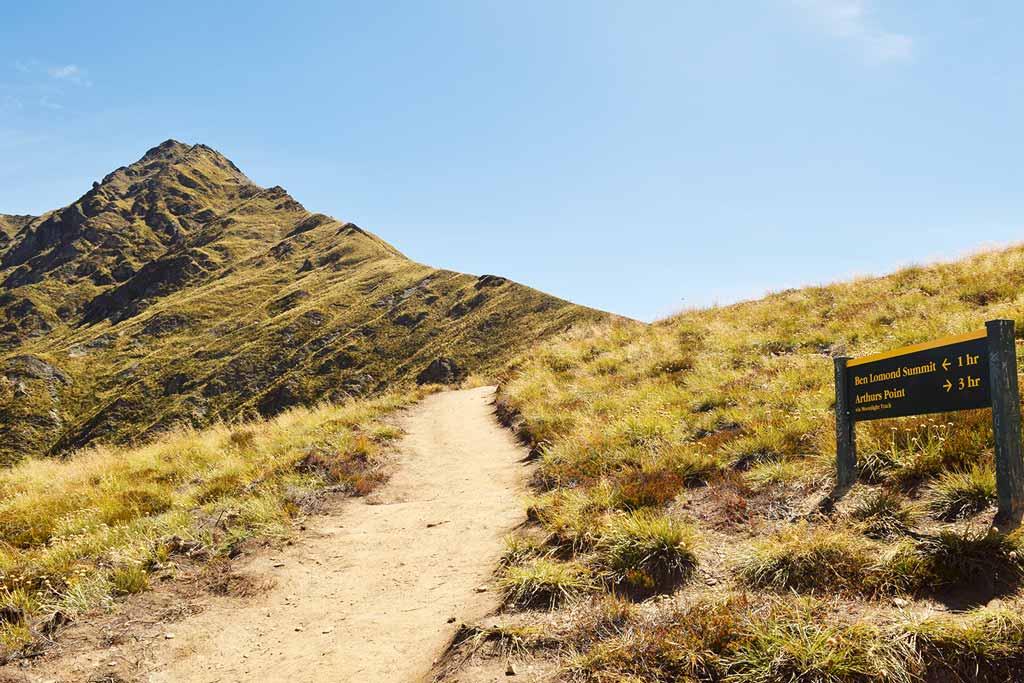 Randonnée Ben Lomond sommet