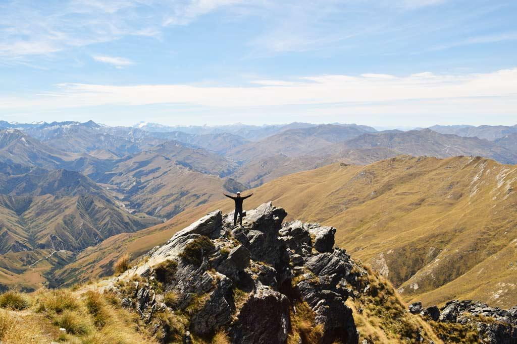 Randonnée Ben Lomond panorama sommet