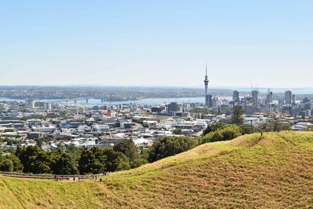 Vue sur Auckland en Nouvelle Zélande
