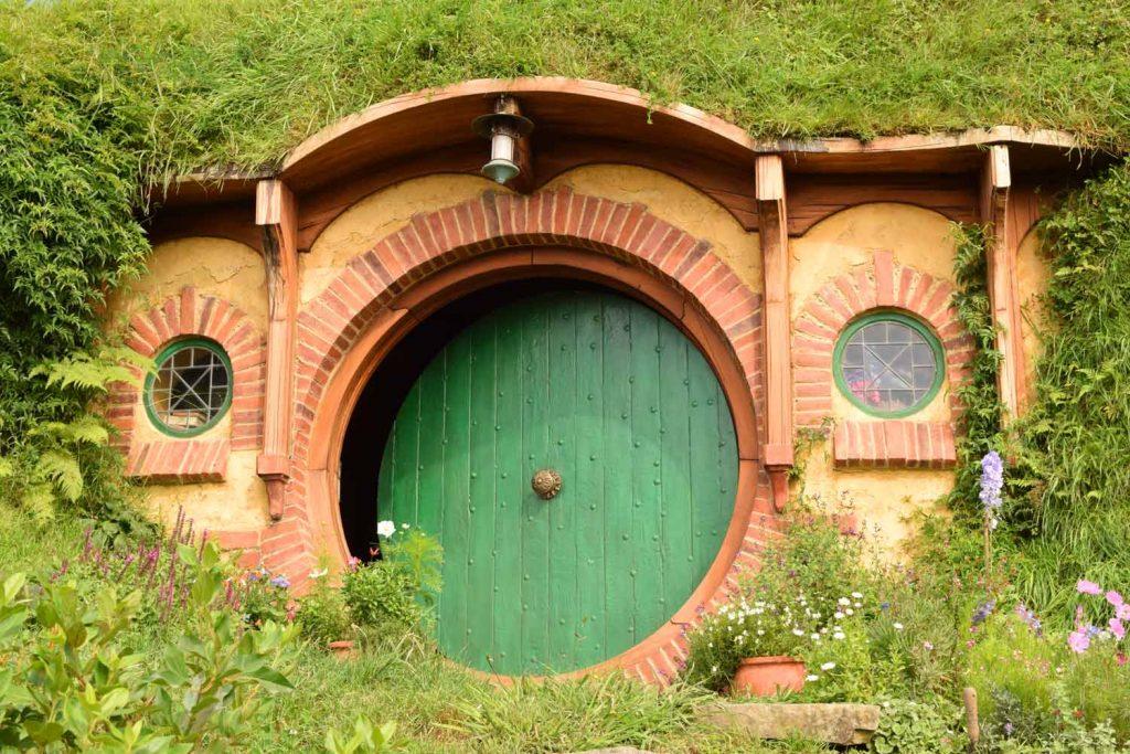 La maison de Bilbon et Frodon à Matamata