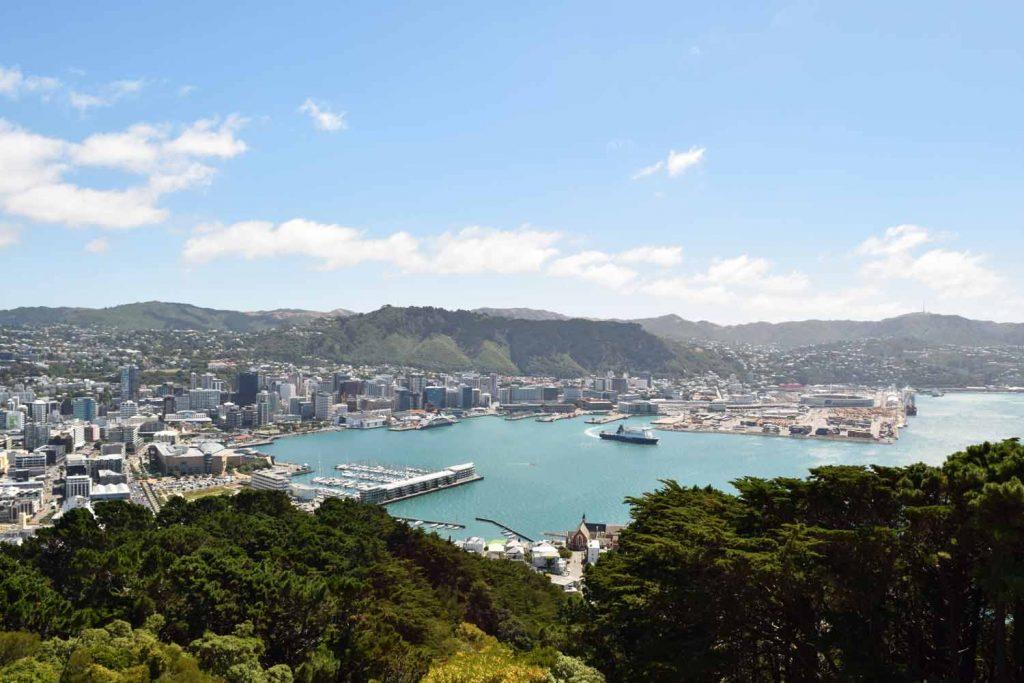 Wellington vue depuis Mount Victoria