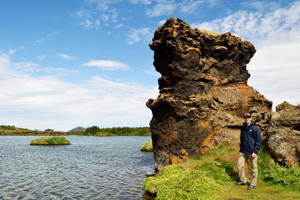 Höfði, Lac Myvatn