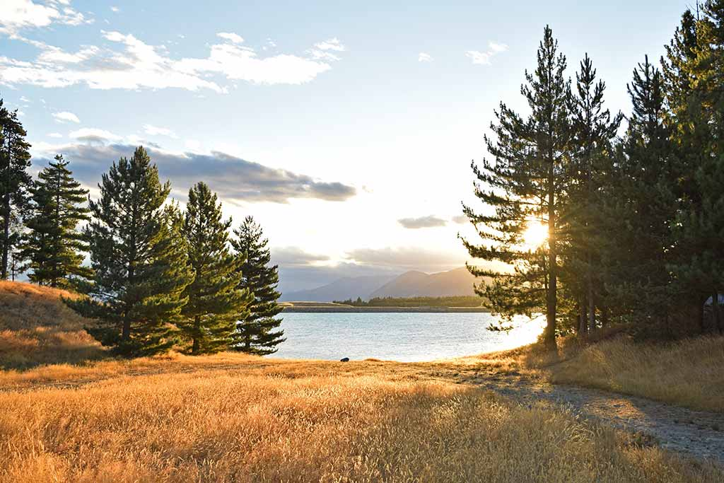 Lac Pukaki campsite