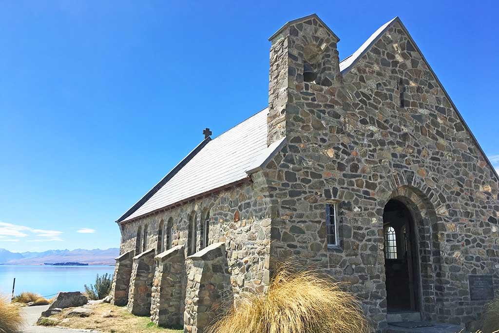 Tekapo, église du Bon Berger