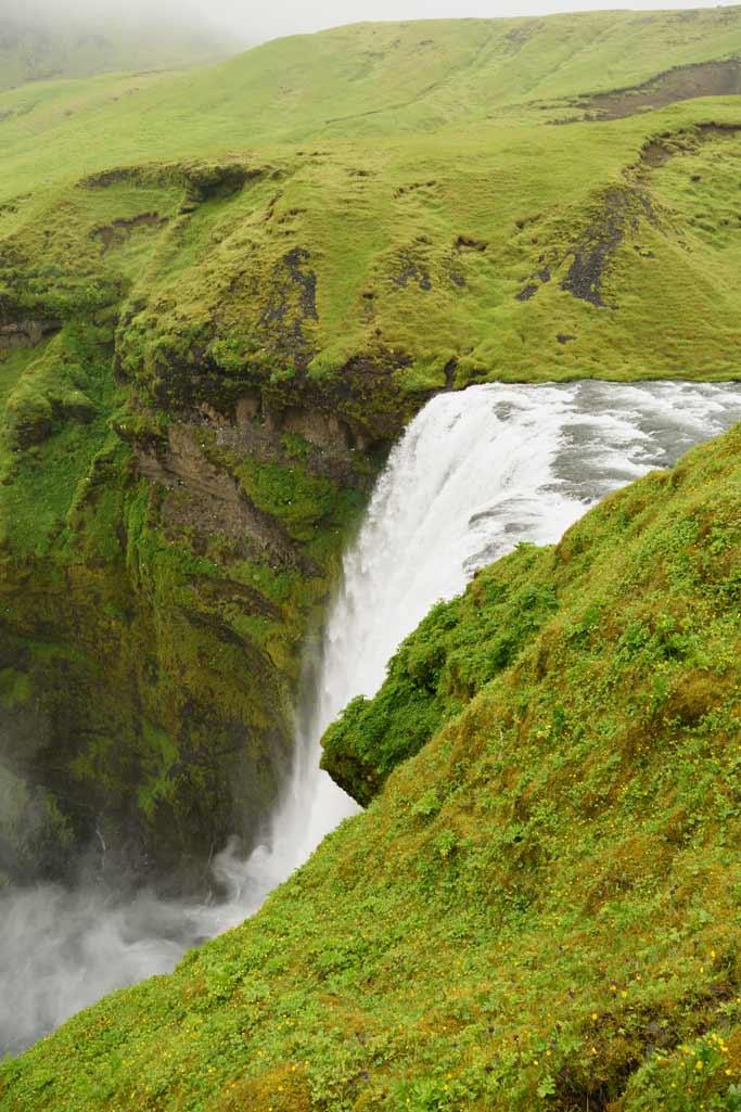 Skógafoss, Islande