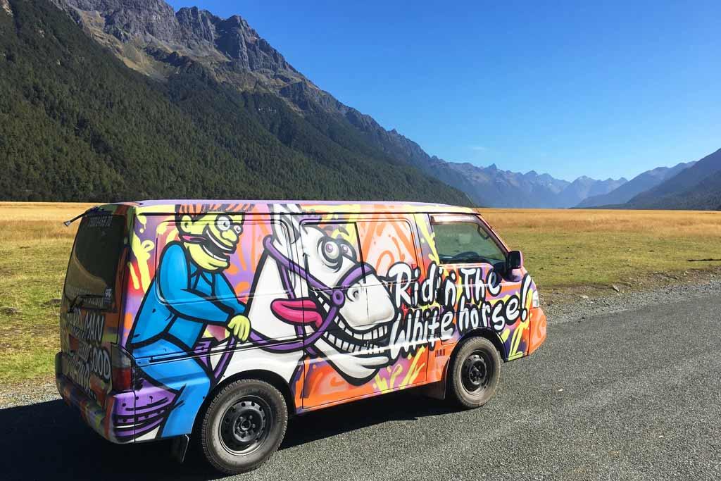 Road trip Te Anau