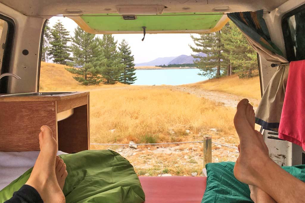 Van Life Wicked Campers