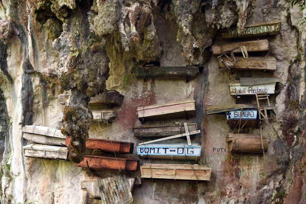 Cercueils suspendus Sagada