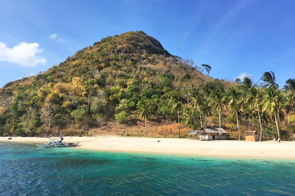 Plage déserte Philippines