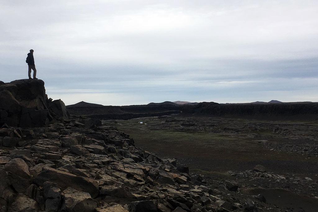 Désert nord-est Islande