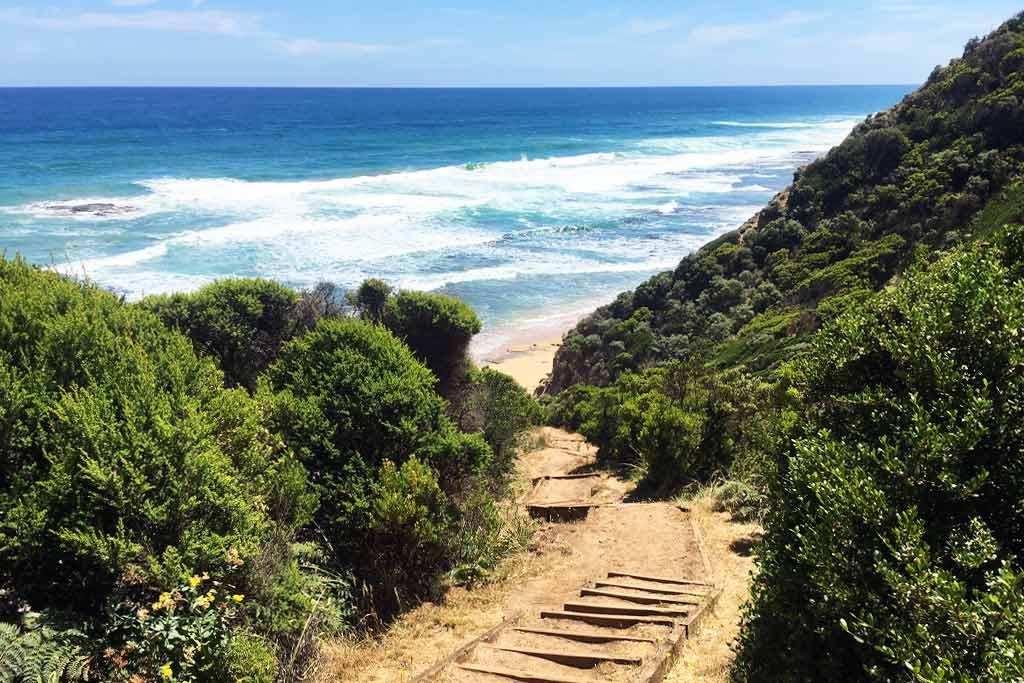 Escalier Wreck Beach