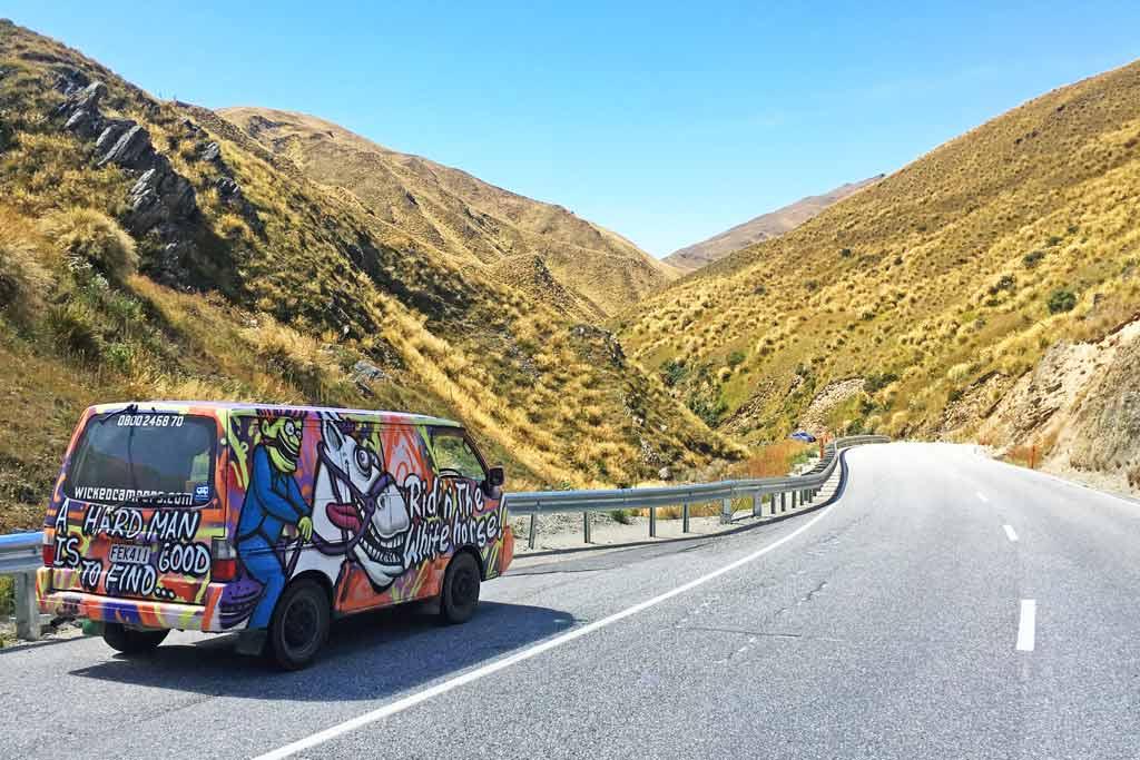 Louer campervan Nouvelle Zélande