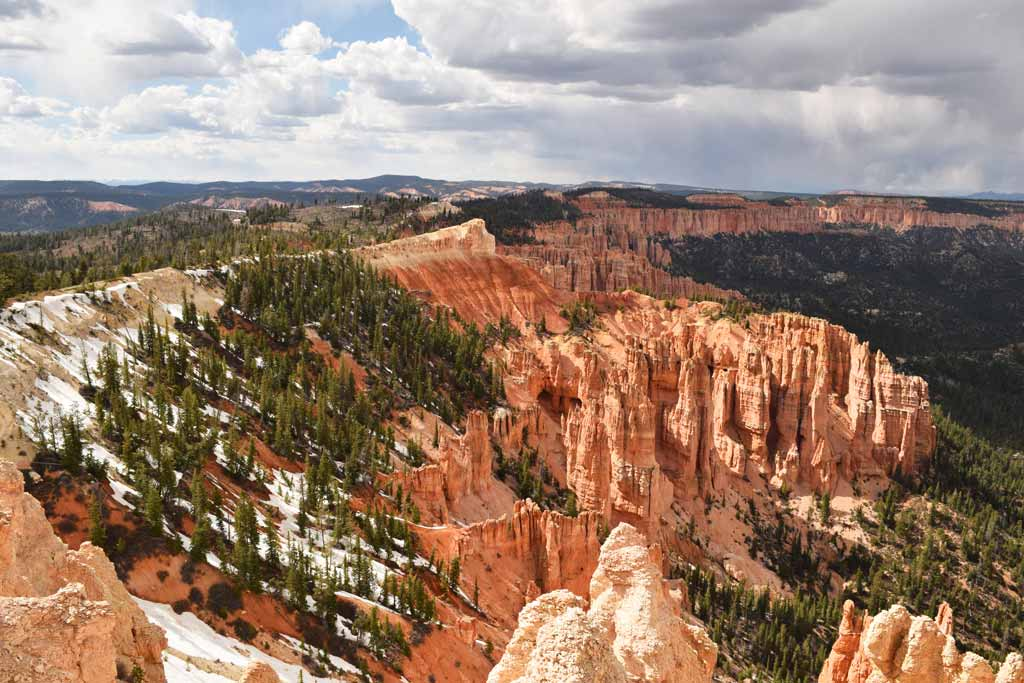 Route panoramique Bryce Canyon