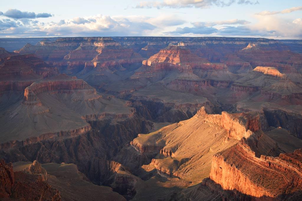 Coucher de soleil Grand Canyon