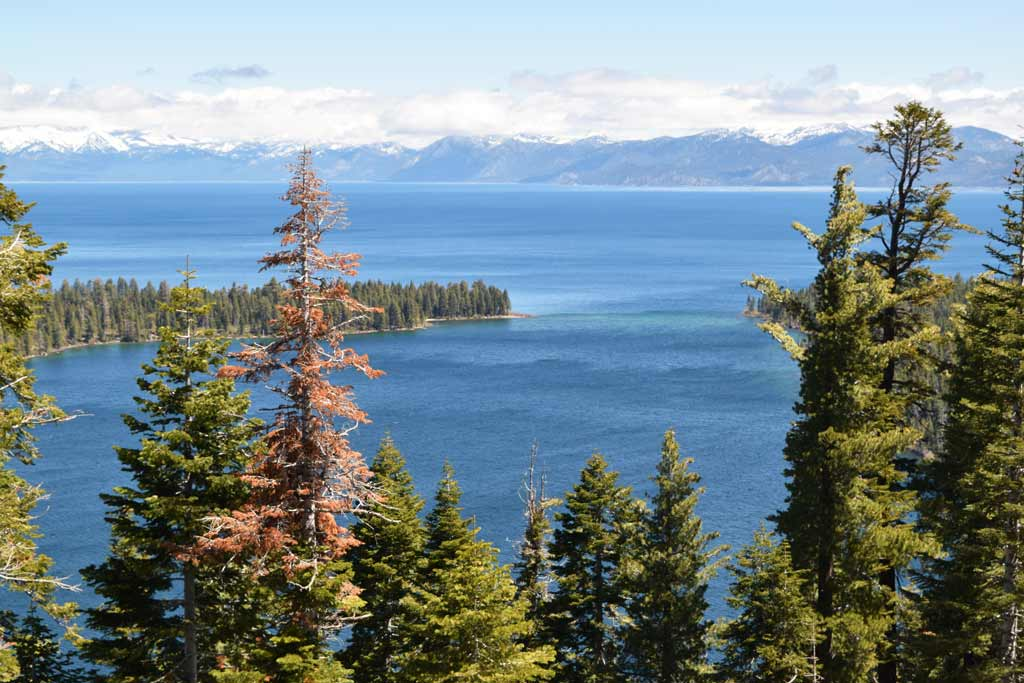 Inspiration Point Lac Tahoe