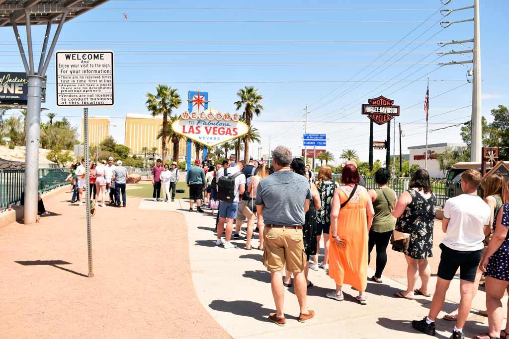 Panneau Welcome Las Vegas