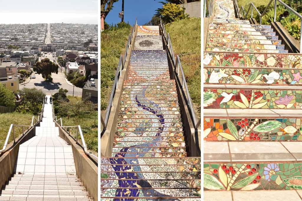 Mosaïc Stairway