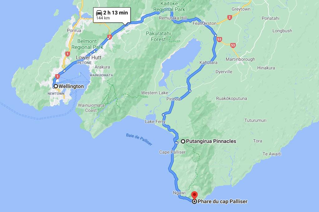 Cap Palliser Nouvelle Zélande